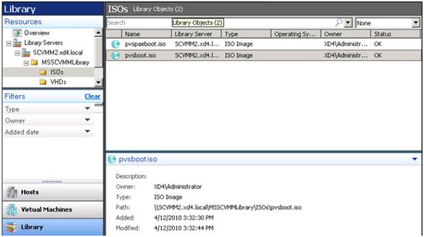 SCVMM Library Add