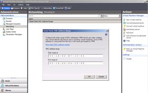 Global MAC Address Assignment