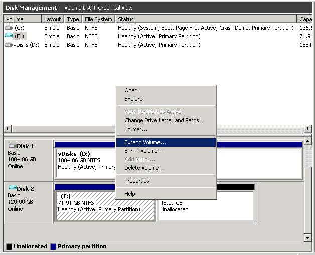Extending a PVS vDisk | VirtualizationJedi